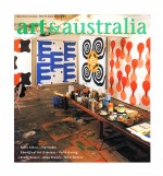 Cover - Art and Australia 2002 by Peter Atkins