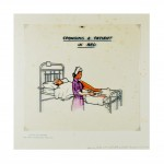 Nursing Aide c1970s - Obsolete Overhead Transparency 2014 by Peter Atkins