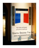 Physical Settings - Martin Browne Fine Art, Sydney 2011 by Peter Atkins