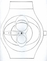 'Mobilo' - Prototype. Commission for Swatch Watch 1998 by Peter Atkins