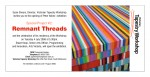 Exhibition invite for 'Remnant Threads'- VTW 2006 by Peter Atkins